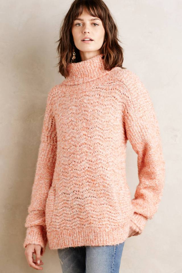 Winter Sun Cowlneck by Tracy Reeee