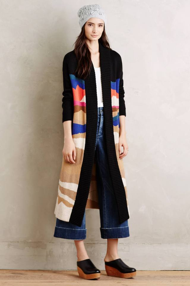 Stockbridge Duster Cardigan by Moth