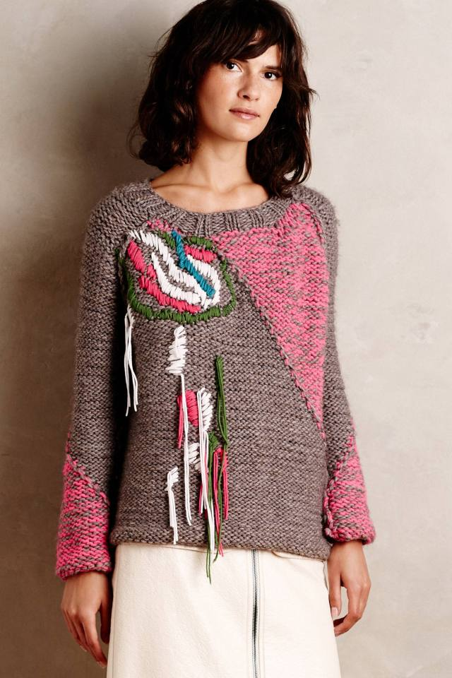 Handknit Thea Pullover by Of Handmade