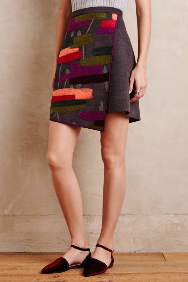 Casia Wrap Skirt by Raoul