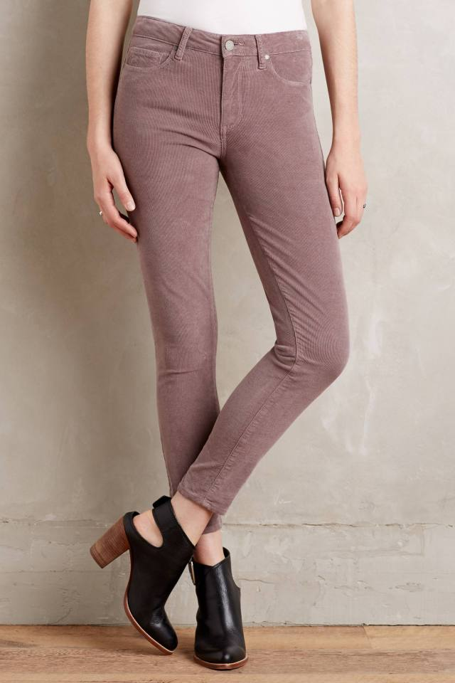 Hoxton Ankle-Zip Jeans by Paige