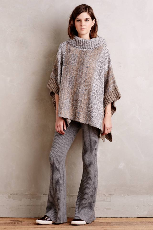 Ribbed Sweater Loungers