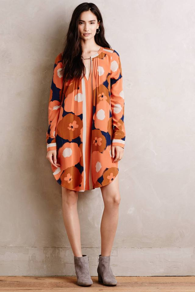 Nona Silk Tunic Dress by Tracy Reese