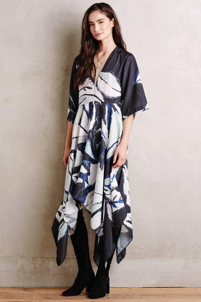 Folium Kimono Dress by Shakuhachi