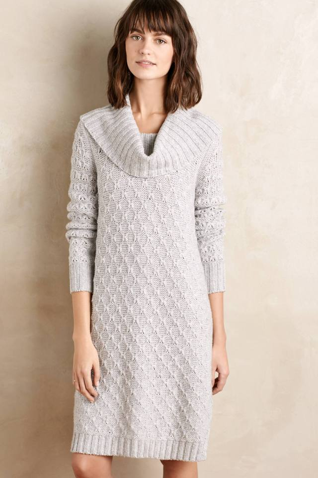 Cowled Sweater Dress by Sparrow