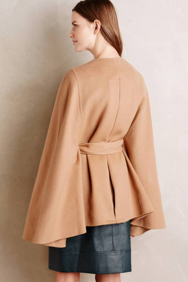 Geneve Wool Capelet by Line