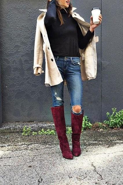Jane Tall Boots by Farylrobin