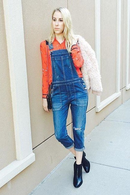 Audrey Overalls by Citizens of Humanity