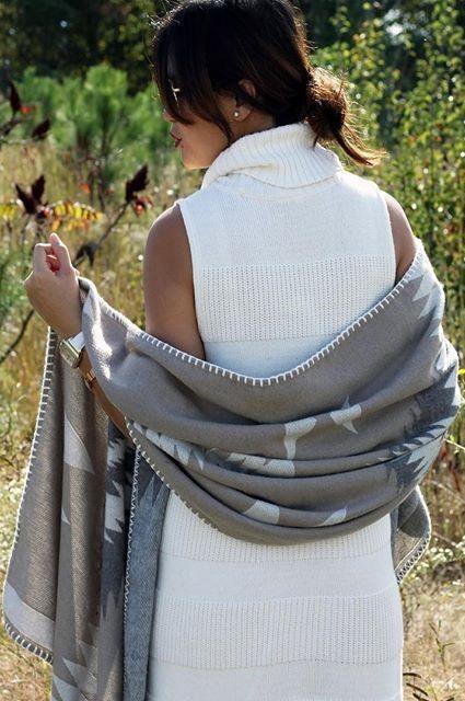 Turtleneck Sweaterdress by Moth