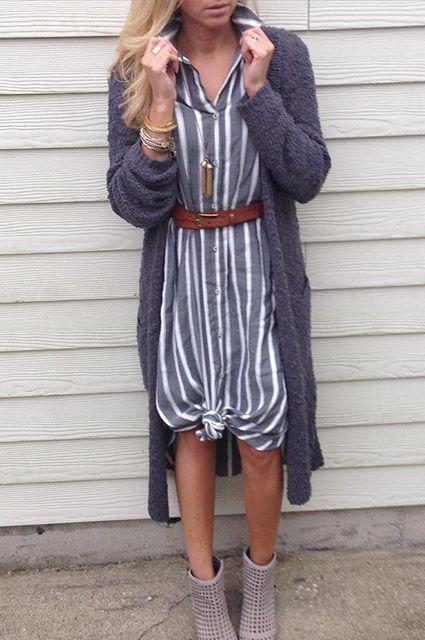 Sleeveless Buttondown Dress by Holding Horses