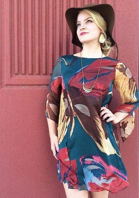 Lorikeet Silk Tunic Dress by Moulinette Soeurs