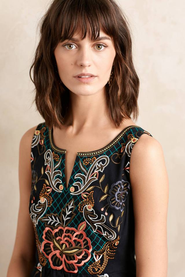 Embroidered Perennial Dress by Moulinette Soeurs
