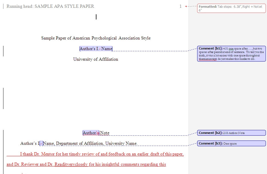 Abstract in apa paper