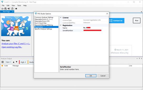 PVS-Studio Keygen & Activator {Latest} Free Download