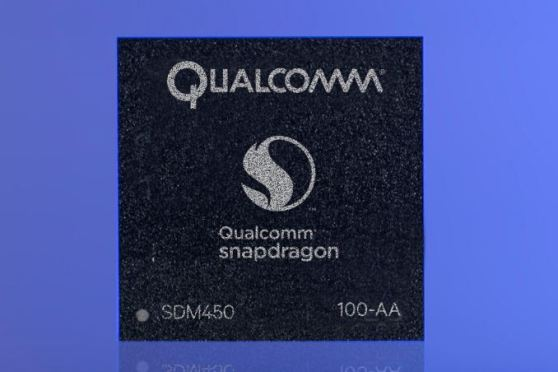 qualcomm snapdragon 450 chipset official
