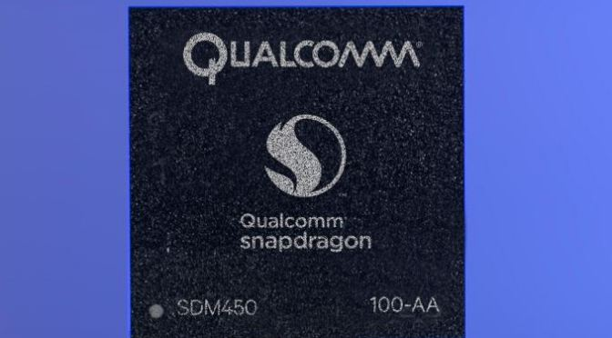 Qualcomm Snapdragon 450 Chipset is Official