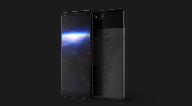 Google Pixel XL 2 Design Revealed in New Render