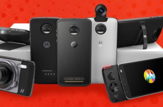 Motorola's New Photo Printer, E-Ink Display, and Lego Moto Mods