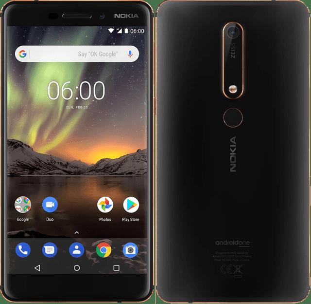 nokia 6.1 best smartphone under 20k in india