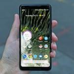 Google Pixel 3 XL photo leaked notch