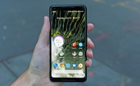 Google Pixel 3 XL photo leaked notch