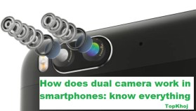 dual camera work in smartphones