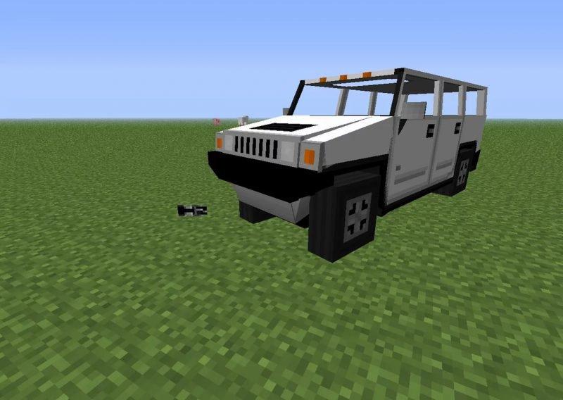Jeep minecraft