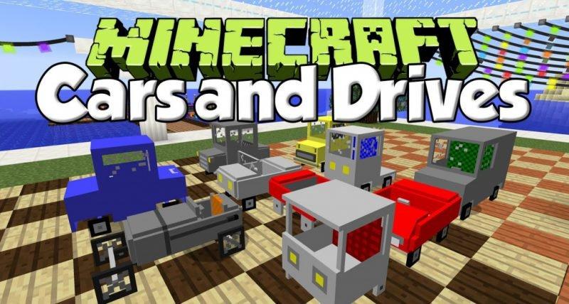 Mod Arabaları ve Drive Minikraft