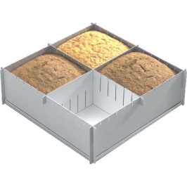 Top Kitchen Gadgets presents Alan Silverwood Multisize Square Cake Tin