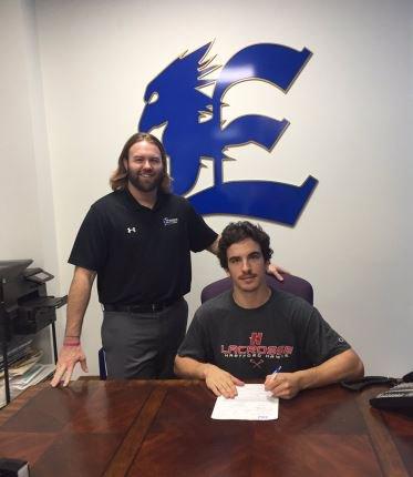 justintkachuk77 of @EverestLax (Ontario) signs #NLI with Hartford