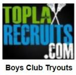 National listing of boys' club tryouts