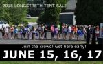 .@LongstrethUSA (PA) Annual Tent Sale is June 15-17; best deals on lacrosse, field hockey, softball products
