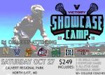 Registration remains open for Victory Showcase Camp on Oct. 27 at Calvert Regional Park in North East, MD