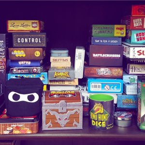Games in Tiny Boxes