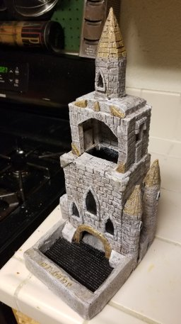Church tower wip before weathering2