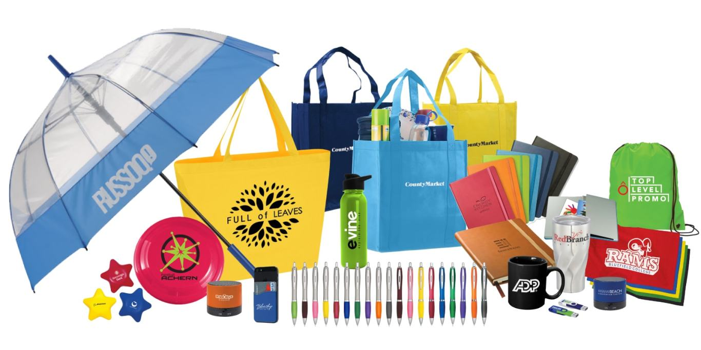 colors - promotional products top level promo - What Colors Should You Choose for Your Promotional Items?