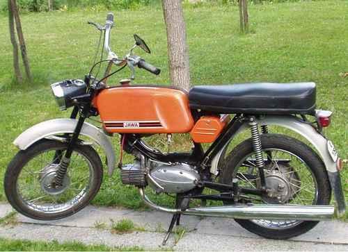 Motocykle Jawa Mustang - 1982