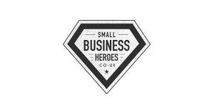 Image of the Small Business Heroes logo