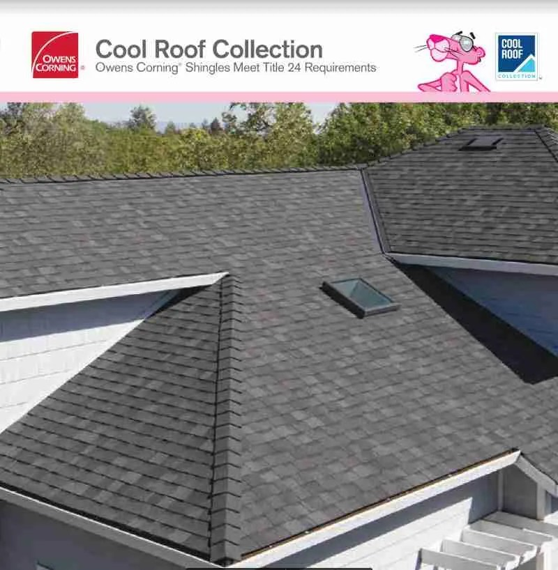 Owens Corning Residential Roofing Systems provided by Top Line Roofing
