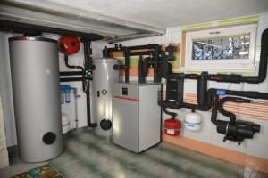 ogrevalni sistem - toplotna črpalka Geos