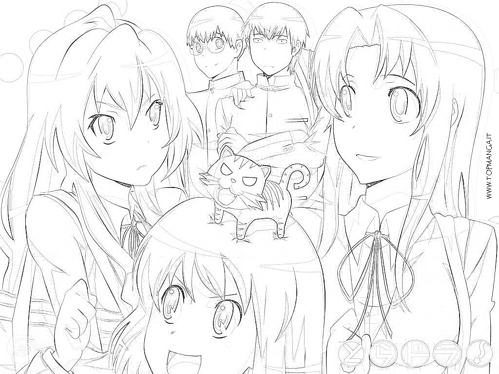 Taiga Biome Animals Coloring Page Sketch Coloring Page