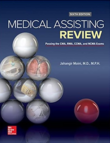 Medical Assisting Review by Jahangir Moini 6th edition