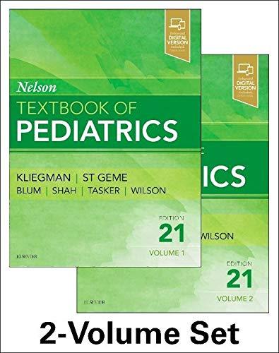 Nelson textbook of pediatrics pdf free