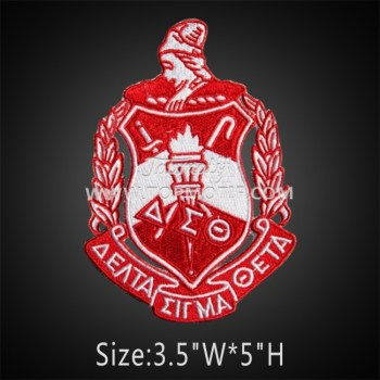 Delta Sigma Theta Embroidered Iron on Patch