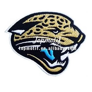 Newest custom iron on clothing patches sports team logo patch