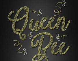 Iron On Transfers Queen Bee Rhinestone
