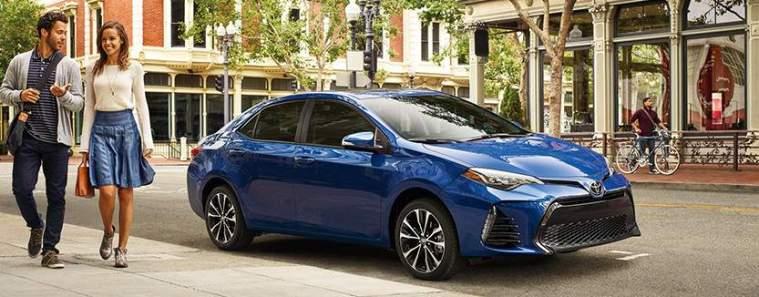 2017 Toyota Corolla Exterior Blue