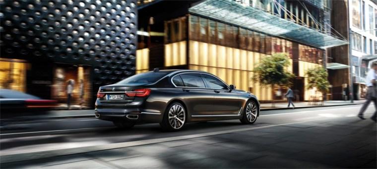2017 BMW 750i xDrive Exterior