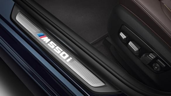 2018 BMW M550i Interior