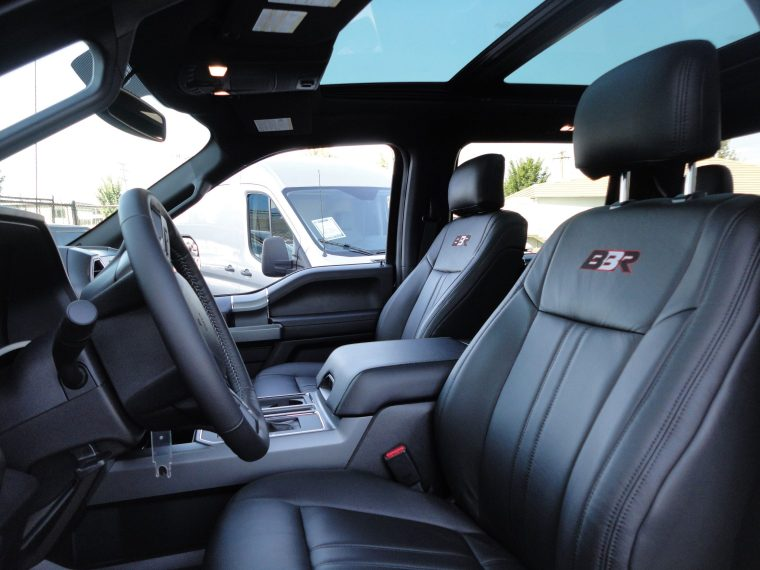Brown Bros Racing 2017 F150 XLT Interior